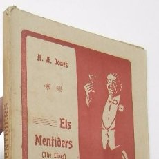 Alte Bücher - ELS MENTIDERS - HENRY ARTHUR JONES (BARTOMEU BAXARIAS, 1911) - 54249829