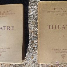 Libros antiguos: THÉATRE. ALPHONSE DAUDET. OEUVRES COMPLETES ILLUSTRÉES, EDITION NE VARIETUR, 1930. Lote 54511852