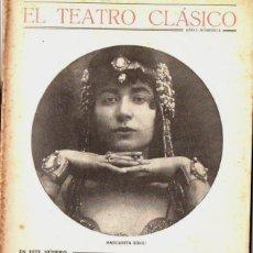 Libros antiguos: CALDERÓN : NO HAY BURLAS CON EL AMOR (TEATRO CLÁSICO, 1924) MARGARITA XIRGU. Lote 69312445