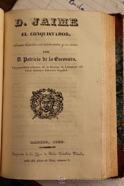 Libros antiguos: La Corte del Buen Retiro. Bárbara Blomberg. Don Jaime el Conquistador. La aurora de Colón. - Foto 2 - 25102103