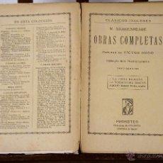 Libros antiguos: 6824 - EDICIONES PROMETEO. 6 VOLUMENES. VV. AA. (VER DESCRIPCIÓN). S/F.. Lote 50216398