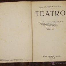 Libros antiguos: 6623 - TEATRO. PEDRO CALDERÓN DE LA BARCA. EDIT. EUROPA. S/F.. Lote 49935475
