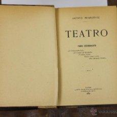 Libros antiguos: 6151 - TEATRO. JACINTO BENAVENTE. LIB. SUCESORES DE HERNANDO. 1908.. Lote 49227533