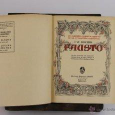 Libros antiguos: D-530. LAS GRANDES OBRAS MAESTRAS DE LA LITERATURA UNIVERSAL EDIT. IBERIA. 1932.. Lote 47794880