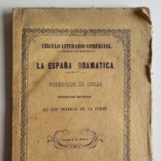 Livros antigos: 1849 * ¿QUIEN ES ELLA? COMEDIA 1ª EDICION * MANUEL BRETON DE LOS HERREROS * CORTE FELIPE IV QUEVEDO. Lote 55156798