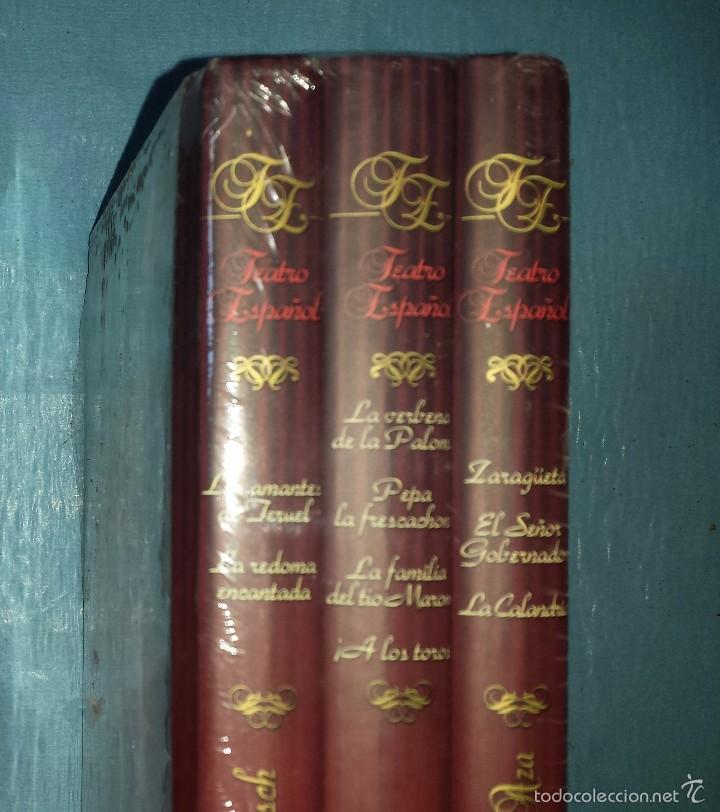 Libros antiguos: Teatro Español, 3 tomos con 8 Zarzuelas Estan nuevos y precintados - Foto 2 - 55814043