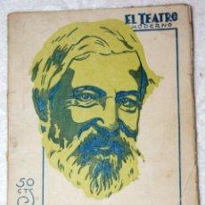 Libros antiguos: EL MÍSTICO. 1931 SANTIAGO ROSIÑOL. DRAMA. EL TEATRO MODERNO. AÑO VII NÚM. 310. Lote 56227556