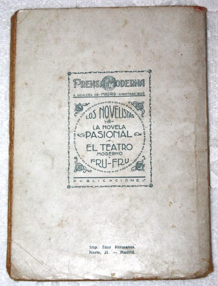 Libros antiguos: PALOMA. FELIPE SASSONE 1928 AÑO IV NÚM. 130 PRENSA MODERNA - Foto 3 - 56229868