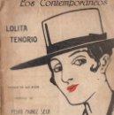 Libros antiguos: PEDRO MUÑOZ SECA Y PEDRO PÉREZ FERNÁNDEZ : LOLITA TENORIO (LOS CONTEMPORÁNEOS, 1919). Lote 56396110