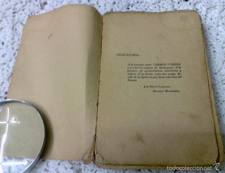 Libros antiguos: AÑO 1917, LA ALCALDESA DE HONTANARES, POR JOSE RINCÓN LAZCANO Y EDUARDO MONTESINOS - Foto 2 - 28612943