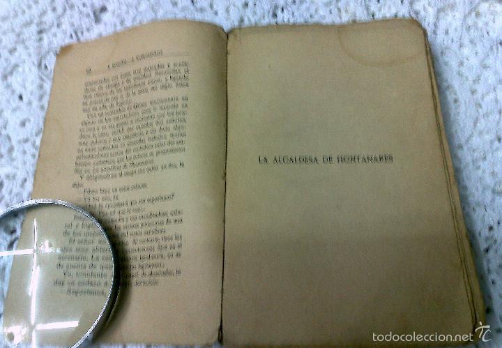 Libros antiguos: AÑO 1917, LA ALCALDESA DE HONTANARES, POR JOSE RINCÓN LAZCANO Y EDUARDO MONTESINOS - Foto 3 - 28612943