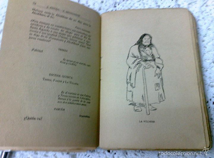 Libros antiguos: AÑO 1917, LA ALCALDESA DE HONTANARES, POR JOSE RINCÓN LAZCANO Y EDUARDO MONTESINOS - Foto 5 - 28612943