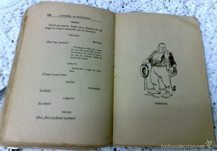 Libros antiguos: AÑO 1917, LA ALCALDESA DE HONTANARES, POR JOSE RINCÓN LAZCANO Y EDUARDO MONTESINOS - Foto 6 - 28612943