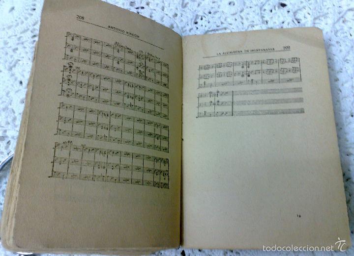 Libros antiguos: AÑO 1917, LA ALCALDESA DE HONTANARES, POR JOSE RINCÓN LAZCANO Y EDUARDO MONTESINOS - Foto 8 - 28612943
