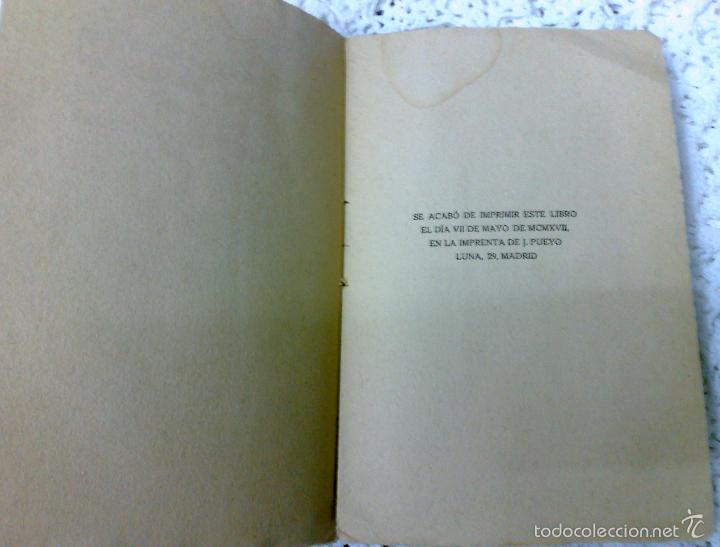 Libros antiguos: AÑO 1917, LA ALCALDESA DE HONTANARES, POR JOSE RINCÓN LAZCANO Y EDUARDO MONTESINOS - Foto 9 - 28612943
