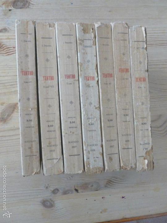 TEATRO JACINTO BANEVENTE. 7 TOMOS. (Libros antiguos (hasta 1936), raros y curiosos - Literatura - Teatro)