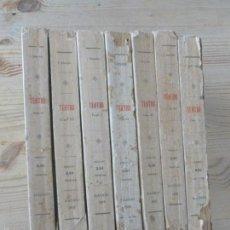 Libros antiguos: TEATRO JACINTO BANEVENTE. 7 TOMOS.. Lote 57050891