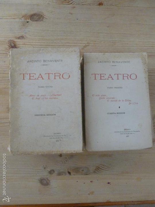 Libros antiguos: TEATRO JACINTO BANEVENTE. 7 TOMOS. - Foto 3 - 57050891