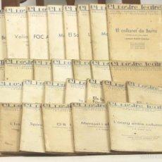 Libros antiguos: 7603 - EL NOSTRE TEATRE. 29 EJEM.(VER DESCRIP). VV. AA. TALL. IRANDEZ. 1934/1936.. Lote 57305596