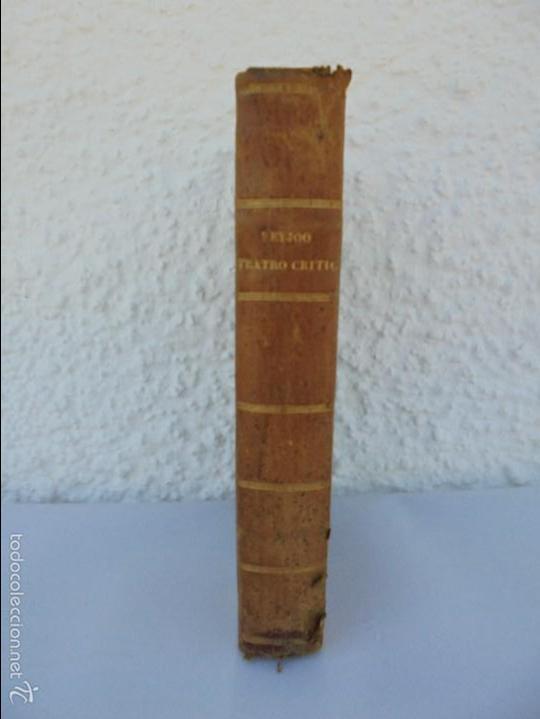 Libros antiguos: TEATRO CRITICO UNIVERSAL. TOMO SEGUNDO. 1777. BENITO GERONIMO FEYJOO Y MONTENEGRO. JOACHIN IBARRA ED - Foto 2 - 57479025