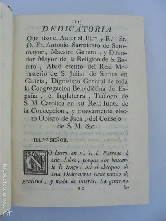 Libros antiguos: TEATRO CRITICO UNIVERSAL. TOMO SEGUNDO. 1777. BENITO GERONIMO FEYJOO Y MONTENEGRO. JOACHIN IBARRA ED - Foto 11 - 57479025