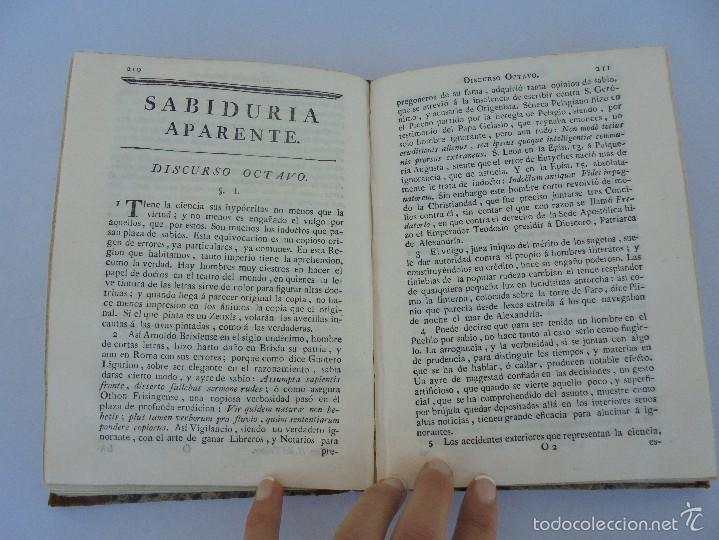 Libros antiguos: TEATRO CRITICO UNIVERSAL. TOMO SEGUNDO. 1777. BENITO GERONIMO FEYJOO Y MONTENEGRO. JOACHIN IBARRA ED - Foto 17 - 57479025