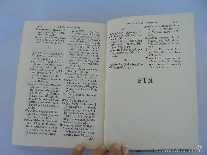 Libros antiguos: TEATRO CRITICO UNIVERSAL. TOMO SEGUNDO. 1777. BENITO GERONIMO FEYJOO Y MONTENEGRO. JOACHIN IBARRA ED - Foto 21 - 57479025