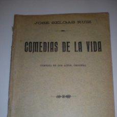 Libros antiguos: COMEDIAS DE LA VIDA. Lote 57588434