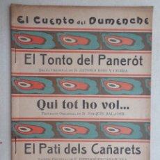 Libros antiguos: EL TONTO DEL PANEROT.450. Lote 57736166