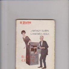 Libros antiguos: EL TEATRO MODERNO - Nº 87 - SANTIAGO RUSIÑOL & G. MARTINEZ SIERRA - 1927. Lote 58116859