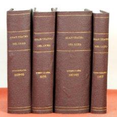 Libros antiguos: 7827 - GRAN TEATRO DEL LICEO VARIAS TEMPORADAS. 4 TOMOS(VER DESCRIPCIÓN). VV. AA. 1958-67.. Lote 58178942