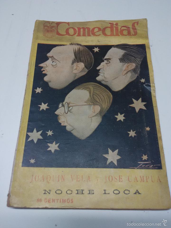 COMEDIAS (Libros antiguos (hasta 1936), raros y curiosos - Literatura - Teatro)