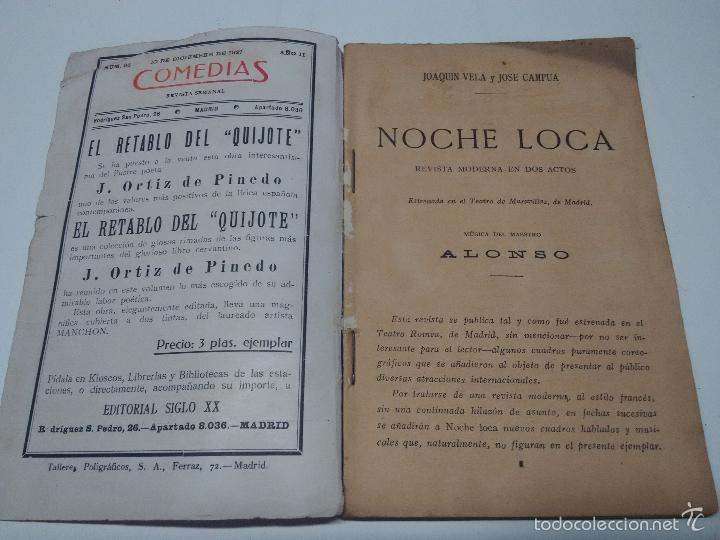 Libros antiguos: Comedias - Foto 2 - 58207263