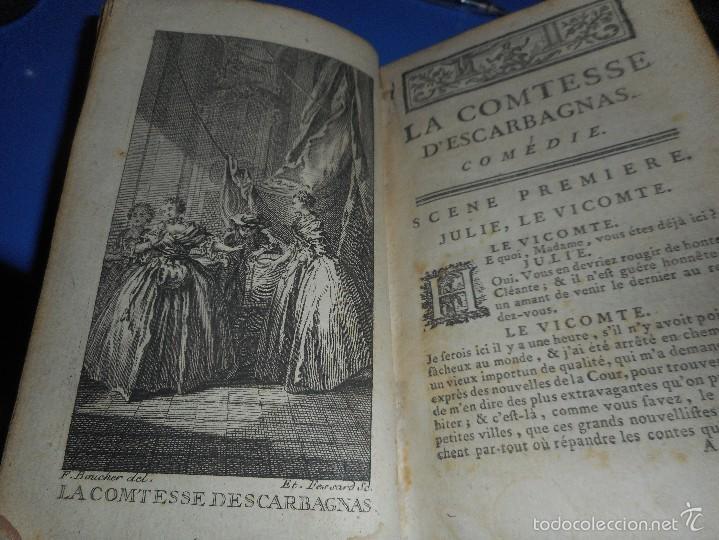 Libros antiguos: excelente libro 1749 oeuvres de moliere con excelentes grabado firmado en frances - Foto 7 - 58473778