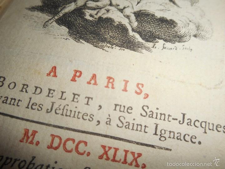 Libros antiguos: excelente libro 1749 oeuvres de moliere con excelentes grabado firmado en frances - Foto 11 - 58473778
