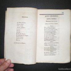 Libros antiguos: VEGA CARPIO, FÉLIX LOPE DE: EL MAYOR IMPOSIBLE. SUELTO DE 'COMEDIAS ESCOGIDAS...' VOLUMEN I (1826). Lote 60292995