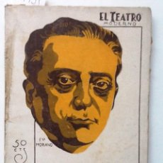 Libros antiguos: LO INVISIBLE. 1928 AZORIN. EL TEATRO MODERNO. Lote 61073311