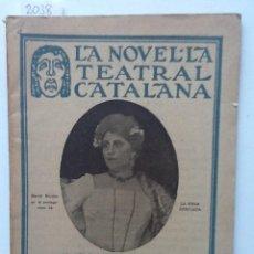 Libros antiguos: LA VIDUA DESITJADA. GOLDONI TRADUCCIO A. CARRION LA NOVEL.LA TEATRAL CATALANA. Lote 61553944