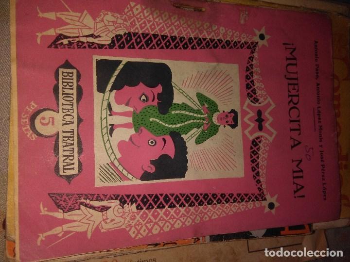 MUJERCITA MIA (Libros antiguos (hasta 1936), raros y curiosos - Literatura - Teatro)