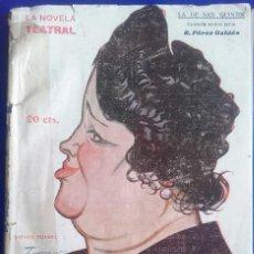 Libros antiguos: LA DE SAN QUINTÍN DE BENITO PÉREZ GALDÓS (1918). Lote 63540696