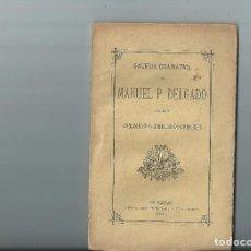 Libros antiguos: EL HOMBRE DE MUNDO. DRAMA. VENTURA DE LA VEGA. COL. GALERÍA DRAMÁTICA. 1880. INTONSO. Lote 64152659