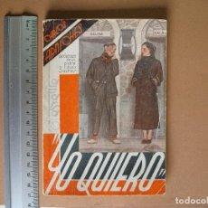 Libros antiguos: REVISTA SEMANA DE TEATRO LA FARSA-YO QUIERO - 2 - 4 - 1936 - Nº 447 - EDITORIAL ESTAMPA. Lote 67242065