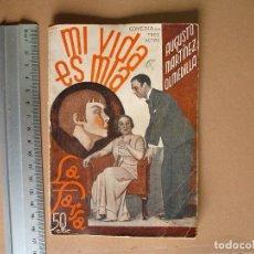 Libros antiguos: REVISTA SEMANA DE TEATRO LA FARSA-MI VIDA ES MIA - 8 - 2 - 1936 - Nº 438 - EDITORIAL ESTAMPA. Lote 67261277
