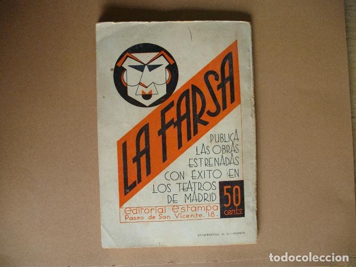 Libros antiguos: REVISTA SEMANA DE TEATRO LA FARSA-MI VIDA ES MIA - 8 - 2 - 1936 - Nº 438 - EDITORIAL ESTAMPA - Foto 4 - 67261277
