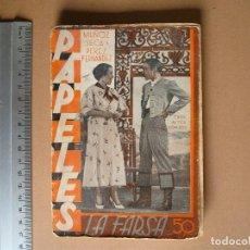 Libros antiguos: REVISTA SEMANAL DE TEATRO LA FARSA-PAPELES. 21- 9 -1935, Nº 418 - EDITORIAL ESTAMPA. Lote 67312305