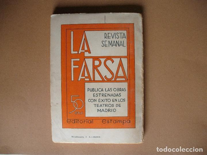 Libros antiguos: REVISTA SEMANAL DE TEATRO LA FARSA-PAPELES. 21- 9 -1935, Nº 418 - EDITORIAL ESTAMPA - Foto 3 - 67312305