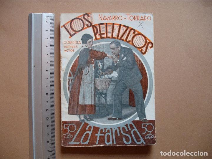 REVISTA SEMANAL DE TEATRO LA FARSA.LOS PELLIZCOS.1-12 -1934, Nº 376 - EDITORIAL ESTAMPA (Libros antiguos (hasta 1936), raros y curiosos - Literatura - Teatro)