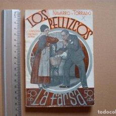 Libros antiguos: REVISTA SEMANAL DE TEATRO LA FARSA.LOS PELLIZCOS.1-12 -1934, Nº 376 - EDITORIAL ESTAMPA. Lote 67463437