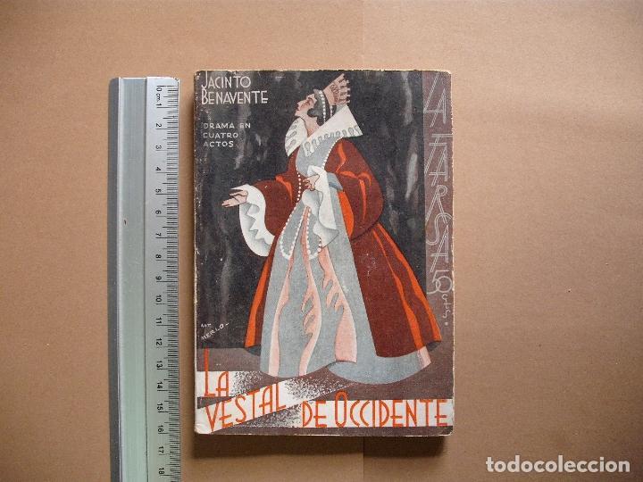 REVISTA SEMANA DE TEATRO - LA FARSA- LA VESTAL DE OCCIDENTE- 22-9- 1934 - Nº 367 - EDITORIAL ESTAMPA (Libros antiguos (hasta 1936), raros y curiosos - Literatura - Teatro)