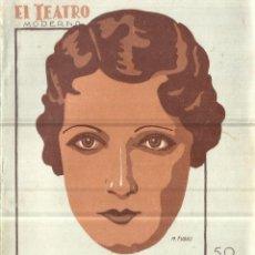 Libros antiguos: ¡ESTA NOCHE ME EMBORRACHO!. LUIS F. DE SEVILLA. EL TEATRO MODERNO. MADRID. 1930. Lote 67822125